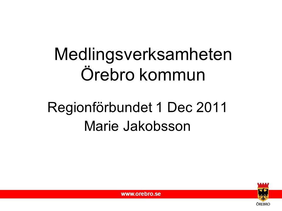 Medlingsverksamheten Örebro kommun