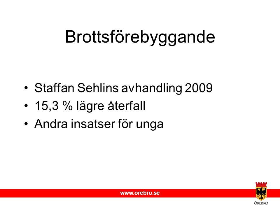 Brottsförebyggande Staffan Sehlins avhandling 2009