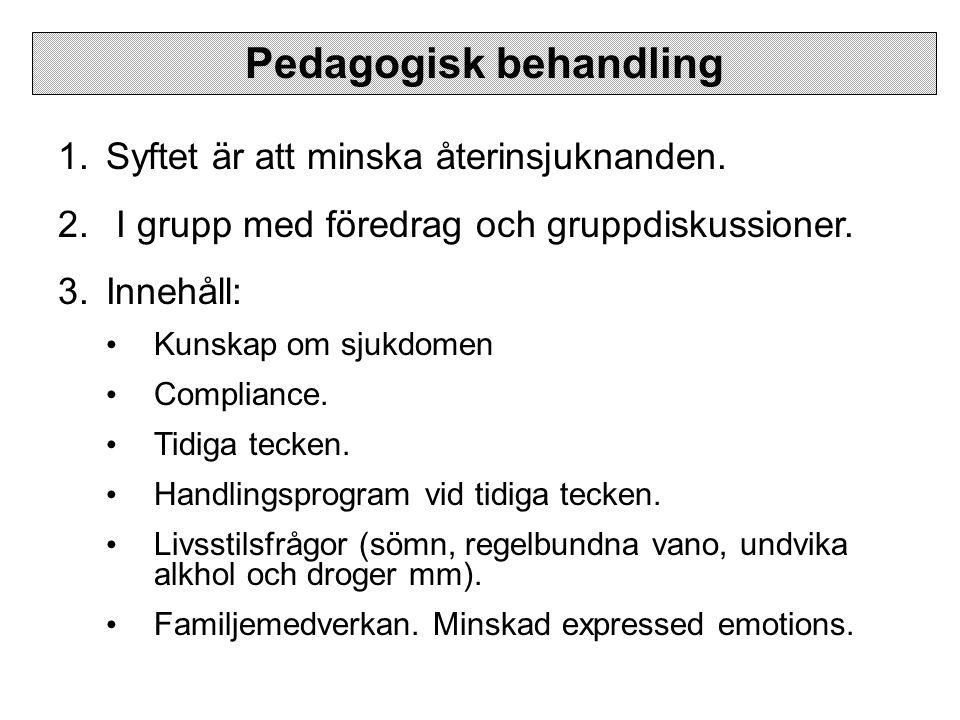 Pedagogisk behandling