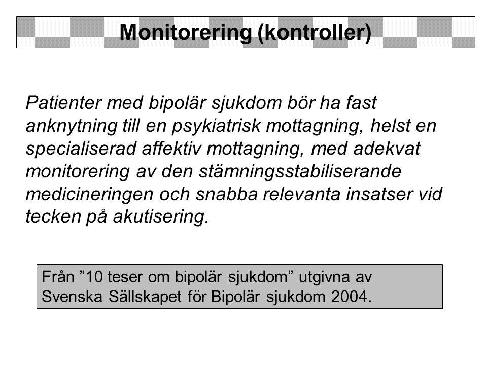 Monitorering (kontroller)