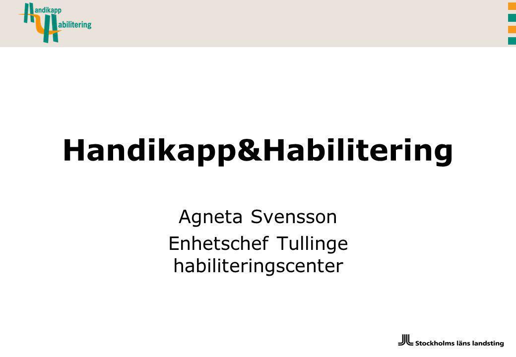 Handikapp&Habilitering
