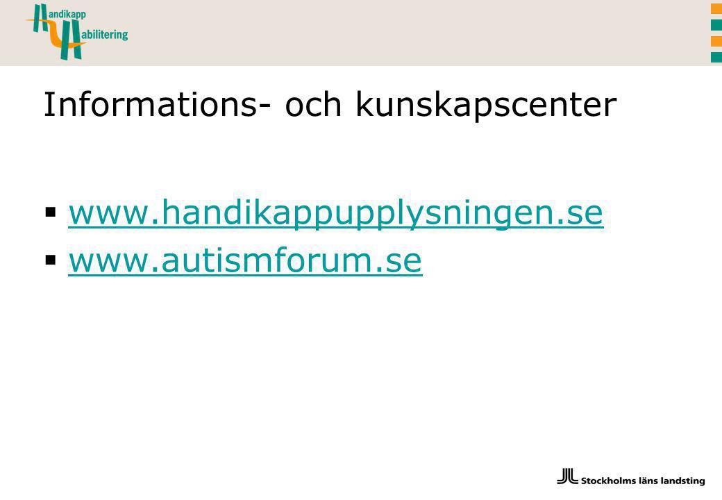Informations- och kunskapscenter