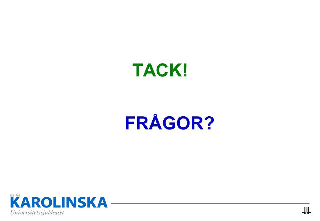 TACK! FRÅGOR