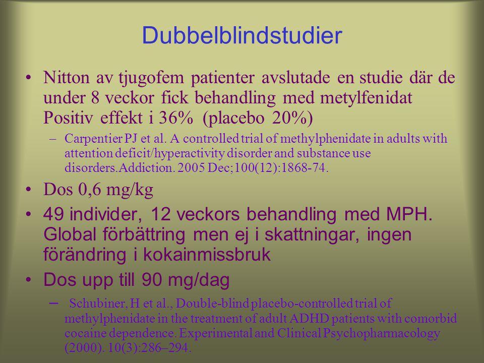 Dubbelblindstudier