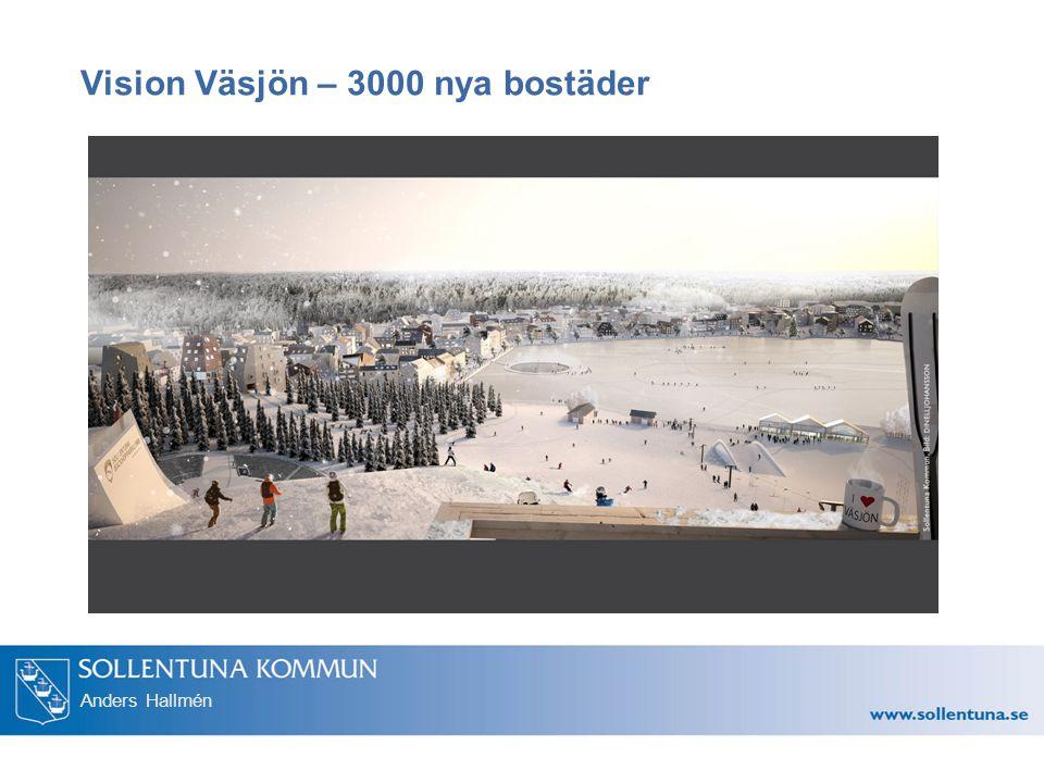 Vision Väsjön – 3000 nya bostäder