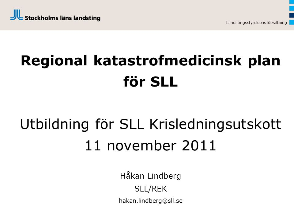 Regional katastrofmedicinsk plan