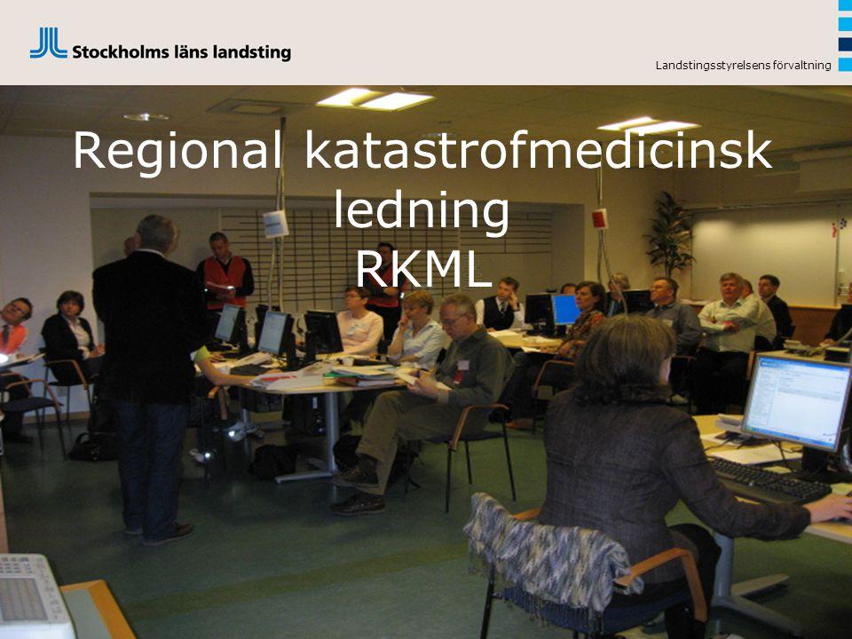 Regional katastrofmedicinsk ledning RKML