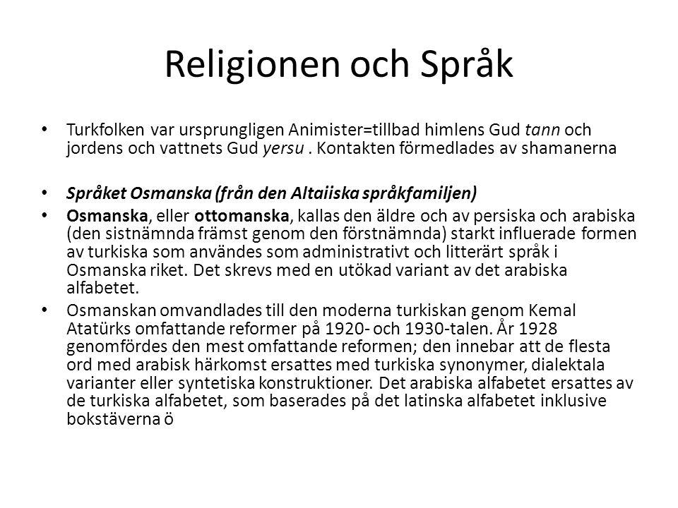 Religionen och Språk