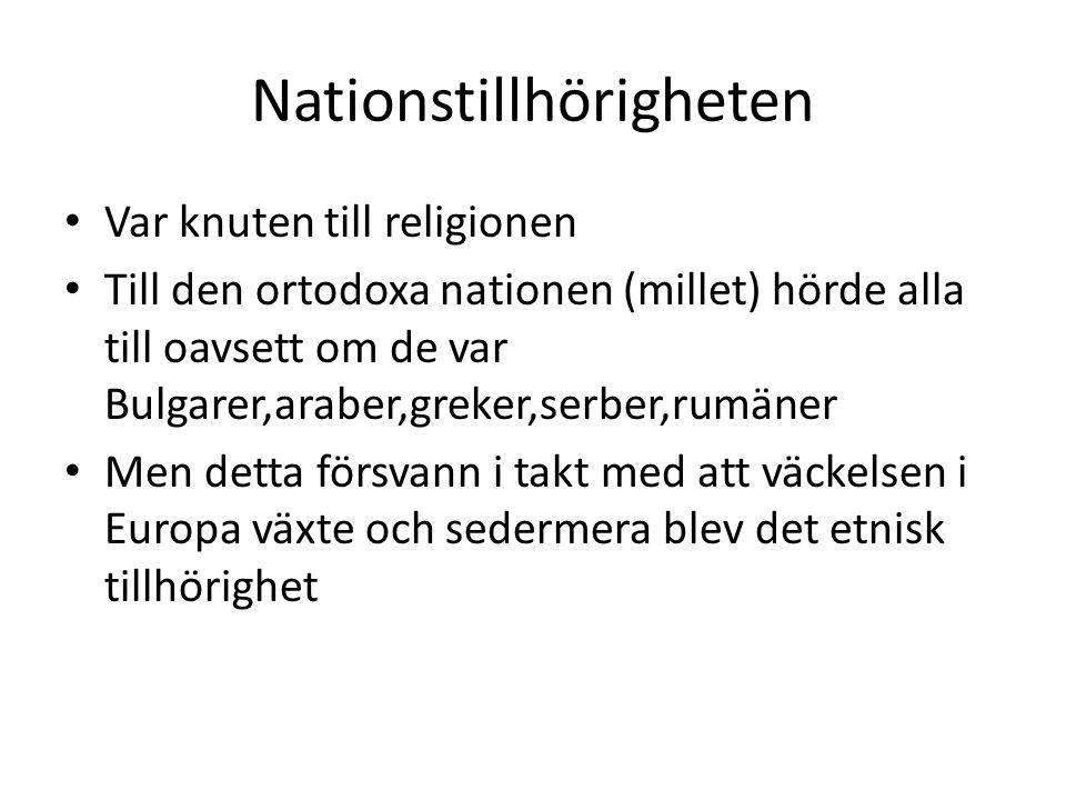 Nationstillhörigheten
