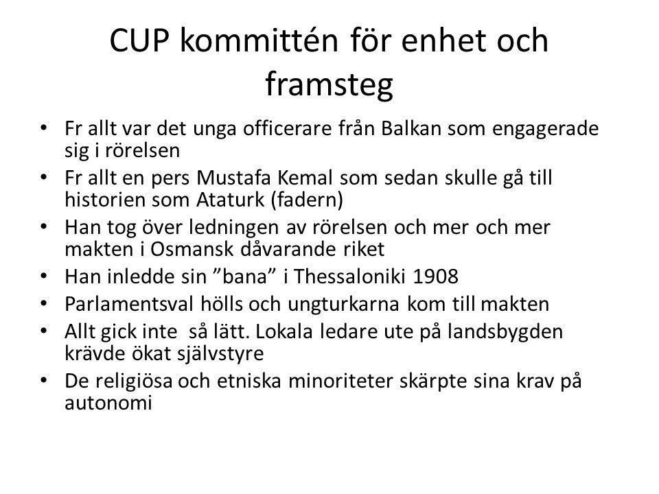 CUP kommittén för enhet och framsteg
