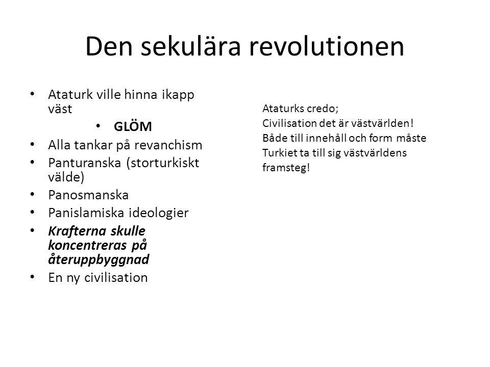 Den sekulära revolutionen