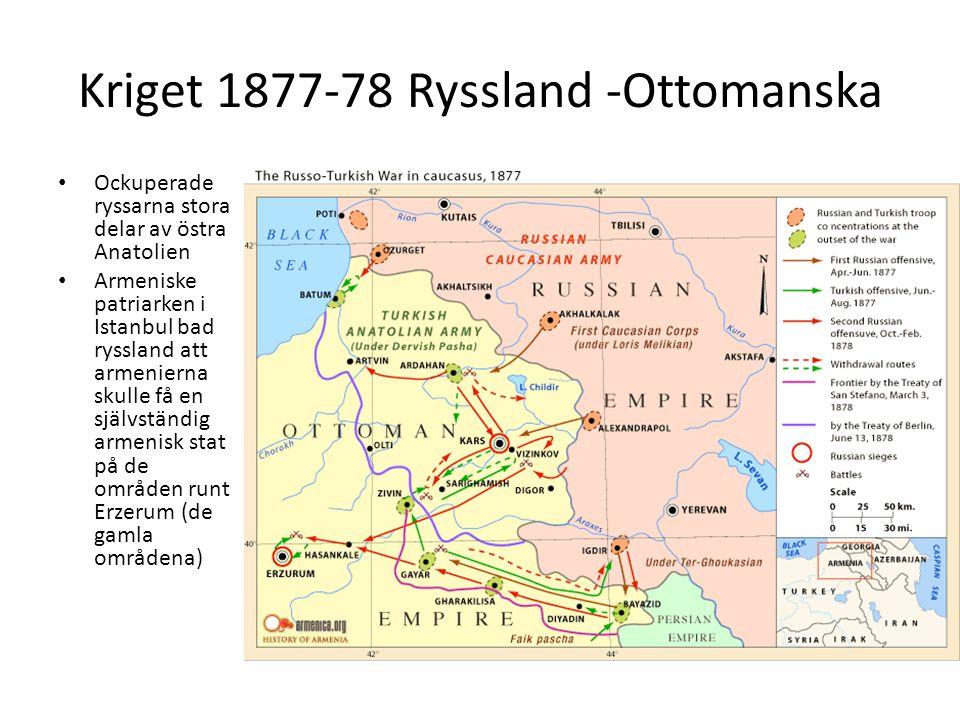 Kriget 1877-78 Ryssland -Ottomanska