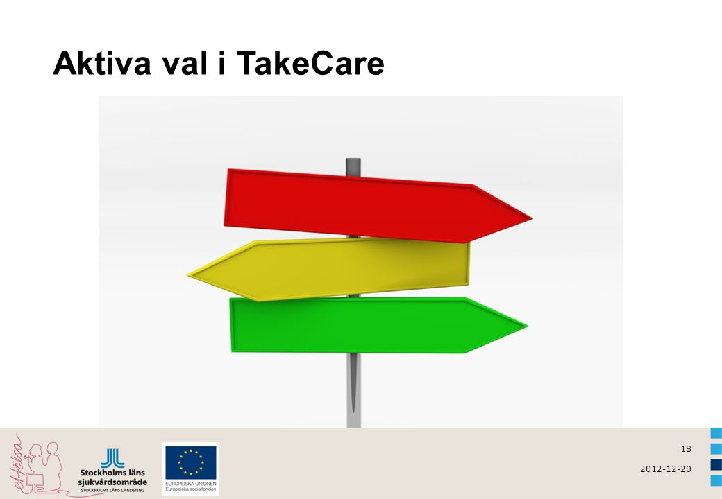 Aktiva val i TakeCare