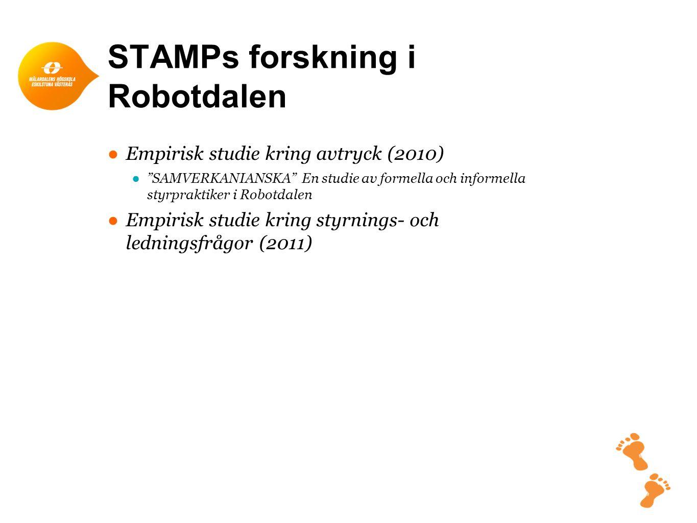 STAMPs forskning i Robotdalen