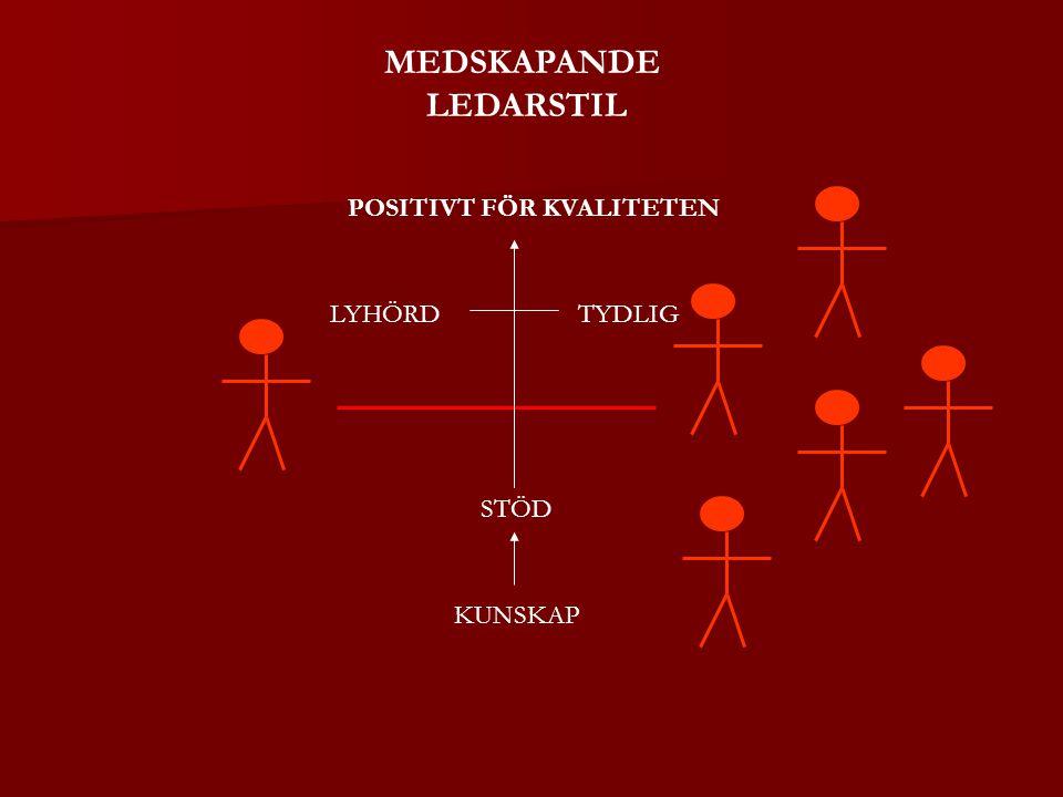 MEDSKAPANDE LEDARSTIL