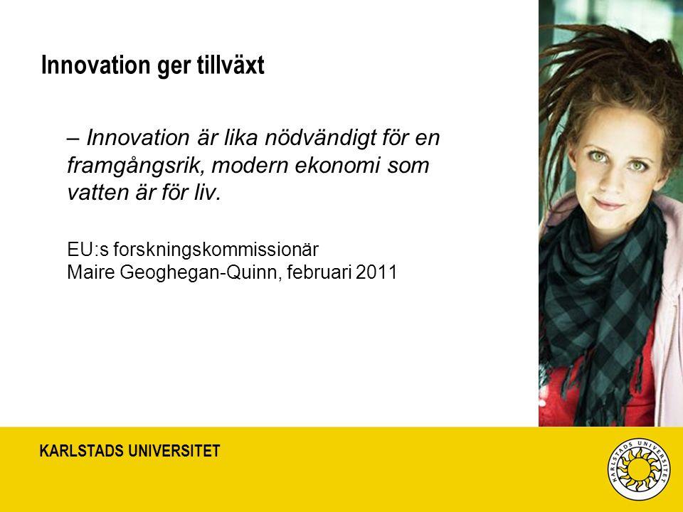 Innovation ger tillväxt