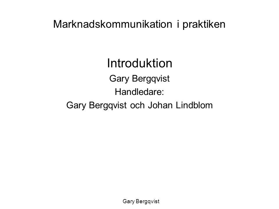 Marknadskommunikation i praktiken