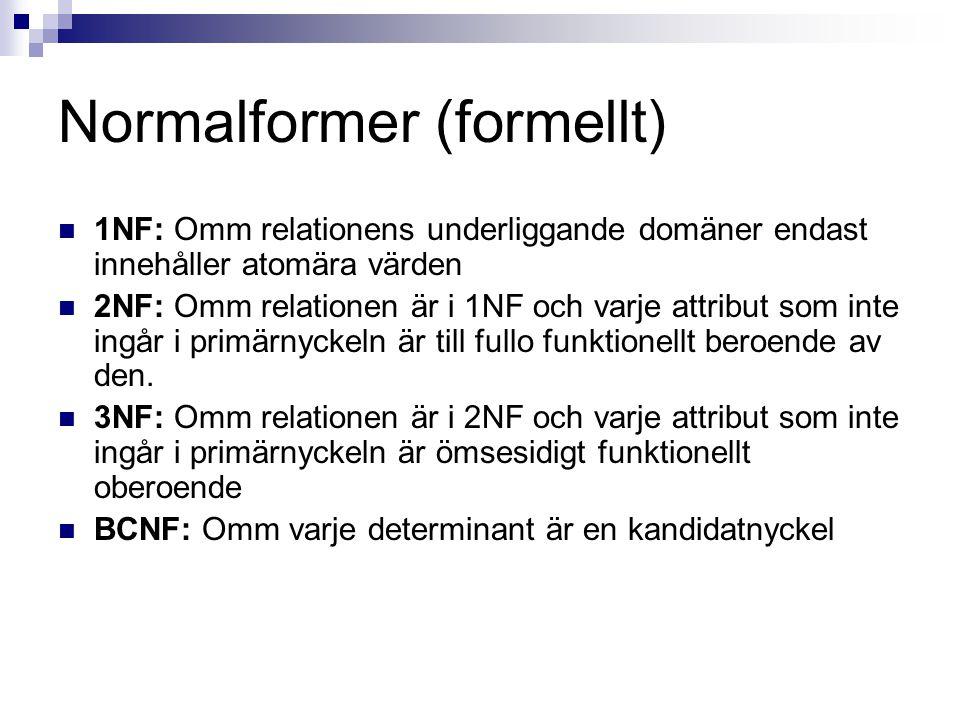 Normalformer (formellt)