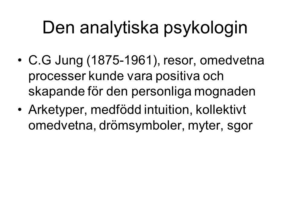 Den analytiska psykologin