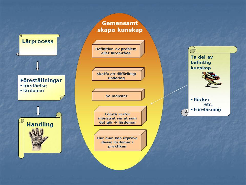 Gemensamt skapa kunskap Handling