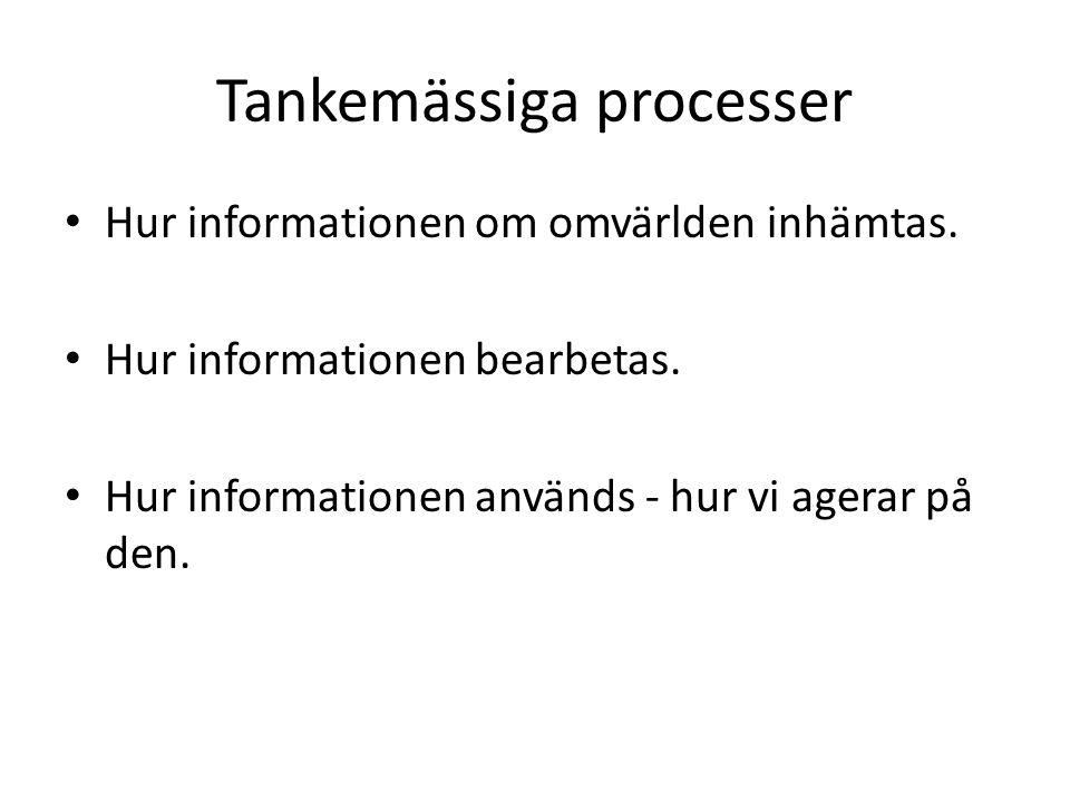 Tankemässiga processer