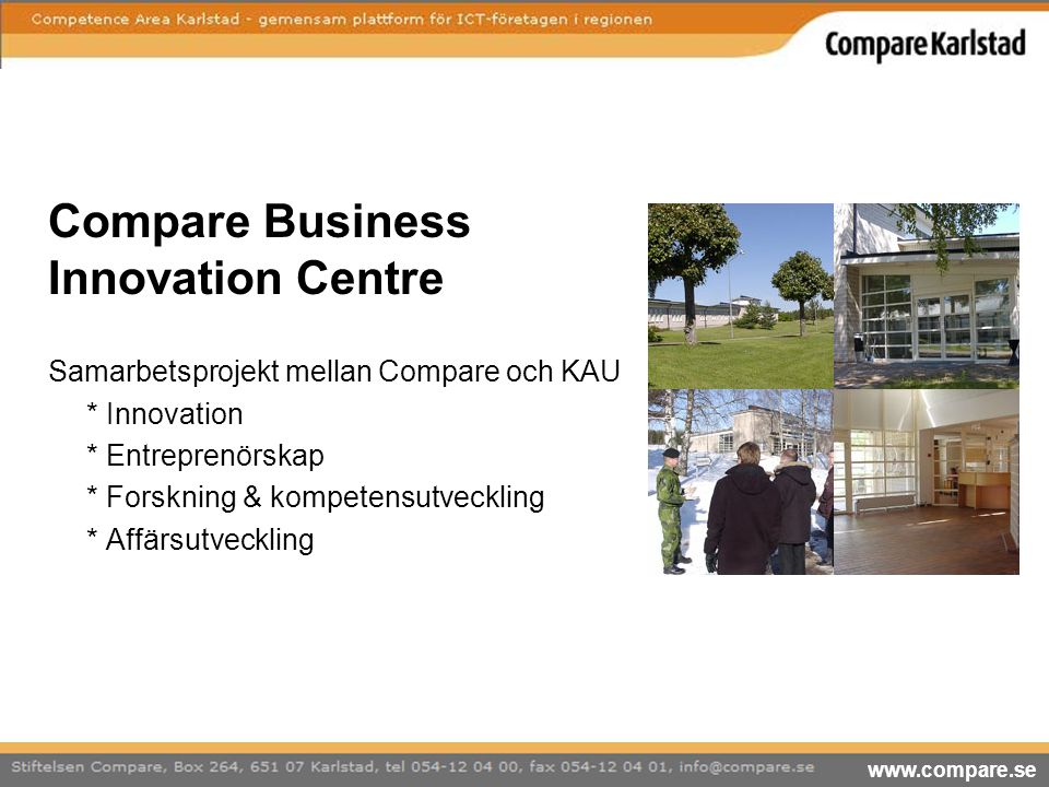 Compare Business Innovation Centre