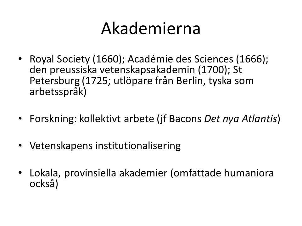 Akademierna