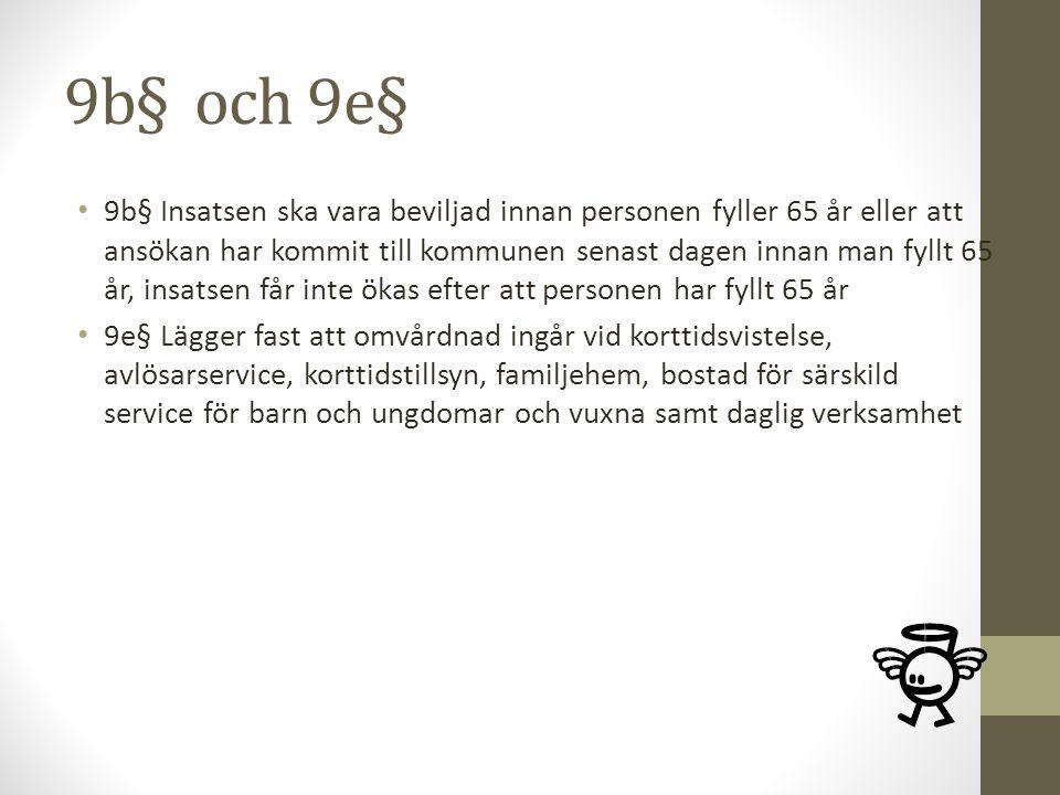 9b§ och 9e§