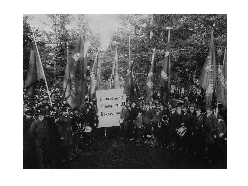Around 1900: The popular movements, including their cultural activities and study associations.