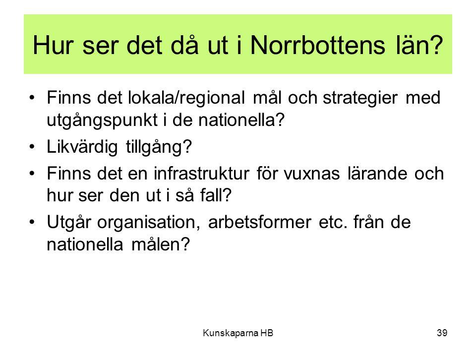 Hur ser det då ut i Norrbottens län