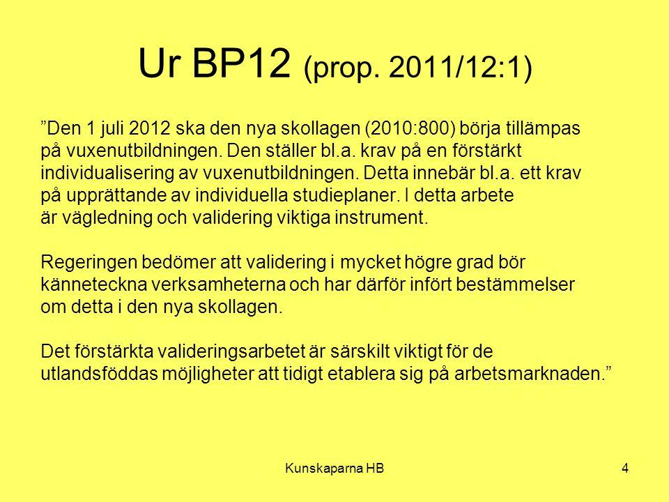 Ur BP12 (prop. 2011/12:1) Den 1 juli 2012 ska den nya skollagen (2010:800) börja tillämpas.