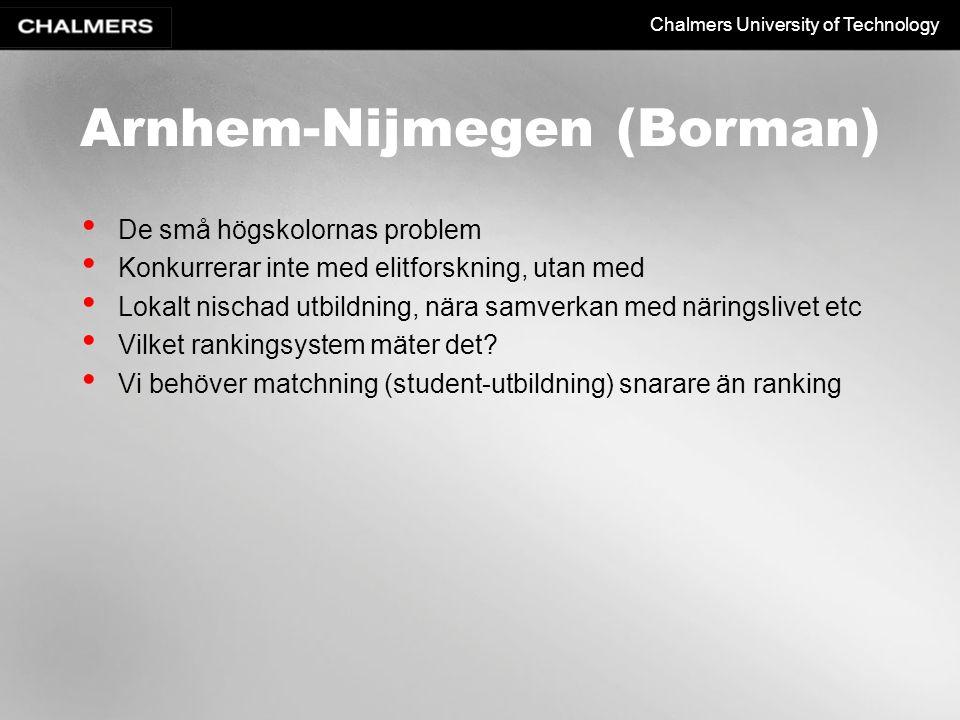 Arnhem-Nijmegen (Borman)