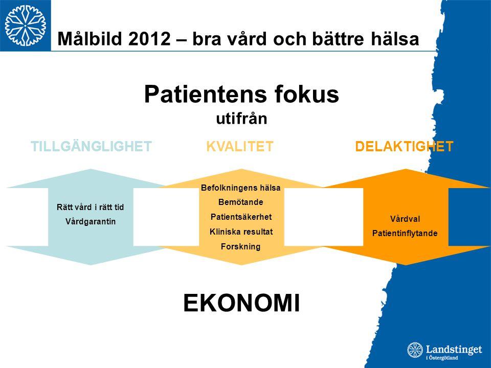 Patientens fokus utifrån