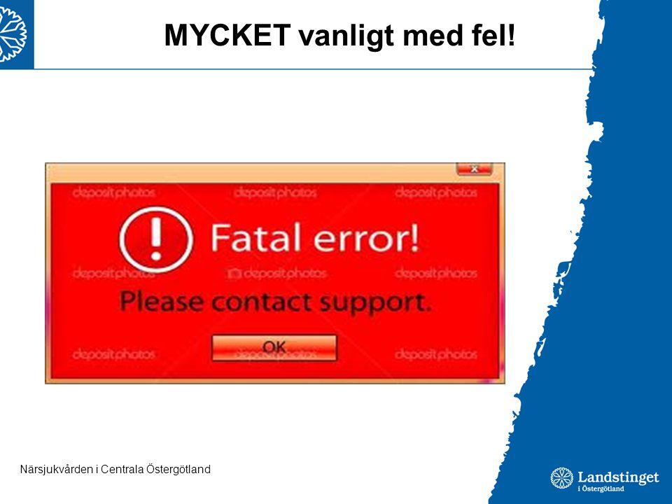 MYCKET vanligt med fel! Bra med äldrekort mm LM-listan stämmer sällan