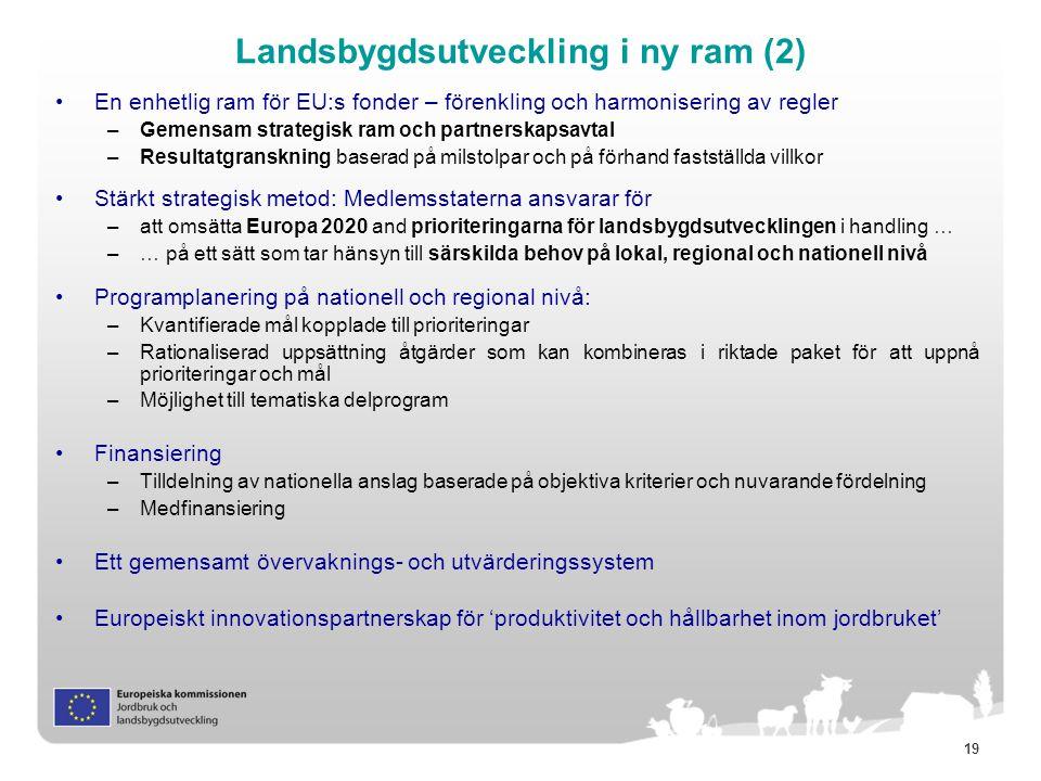 Landsbygdsutveckling i ny ram (2)
