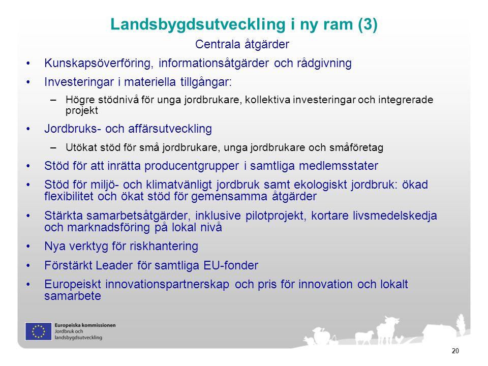 Landsbygdsutveckling i ny ram (3)