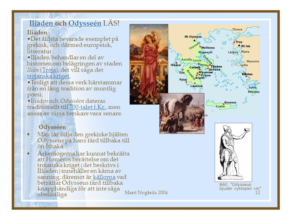 Iliaden och Odysseén LÄS!