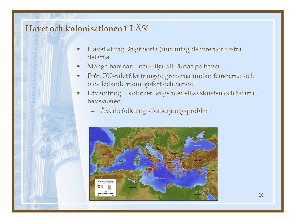 Havet och kolonisationen 1 LÄS!