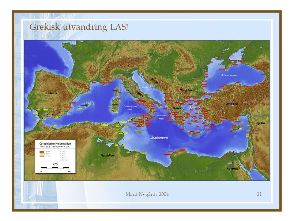 Grekisk utvandring LÄS!
