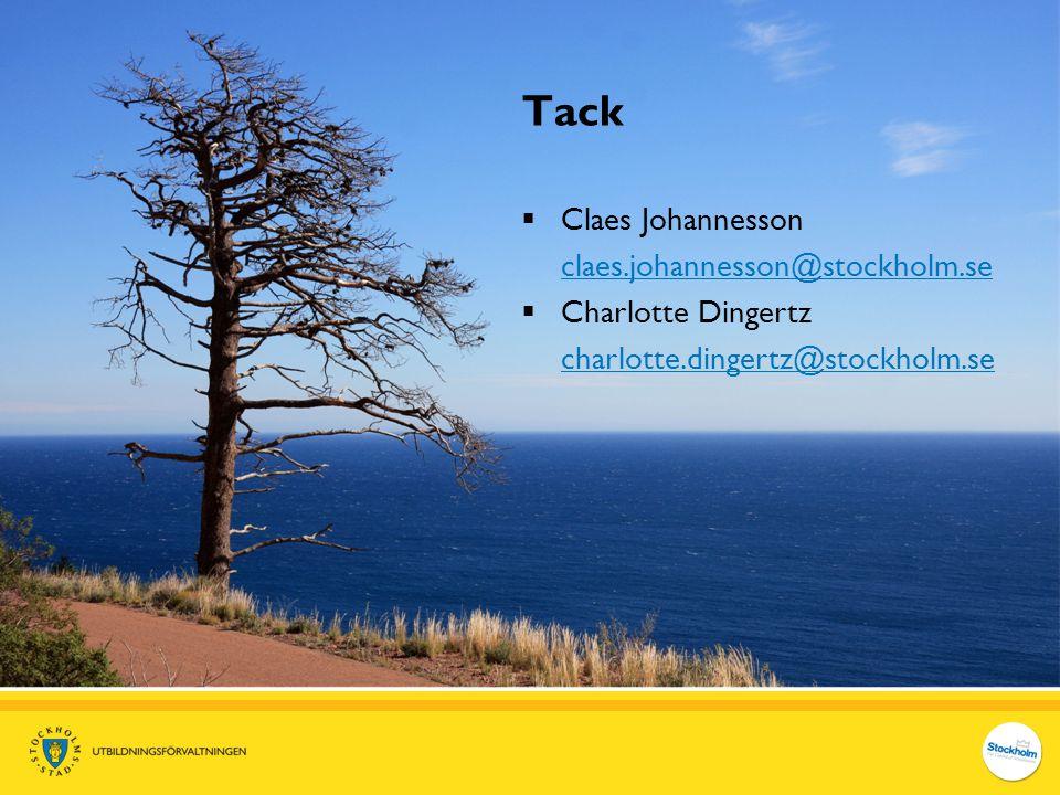 Tack Claes Johannesson claes.johannesson@stockholm.se