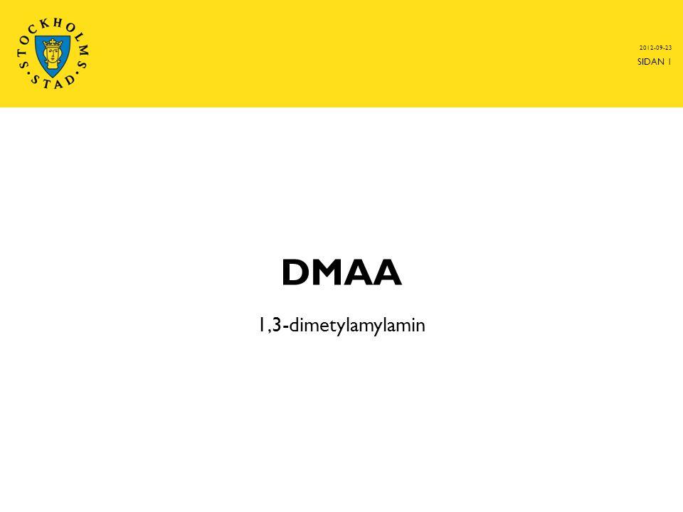 2012-09-23 DMAA 1,3-dimetylamylamin