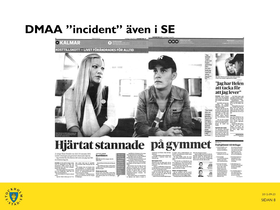 DMAA incident även i SE