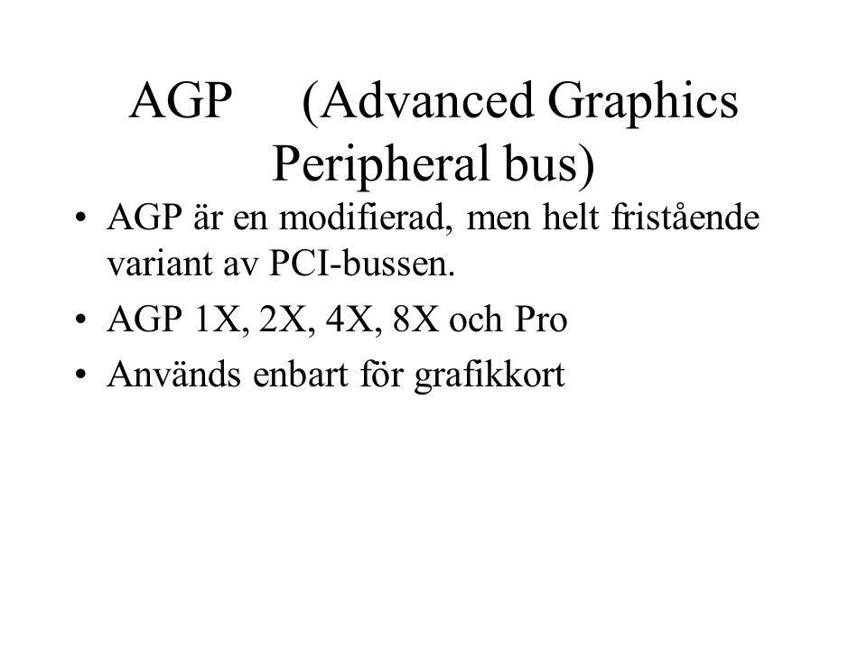 AGP (Advanced Graphics Peripheral bus)