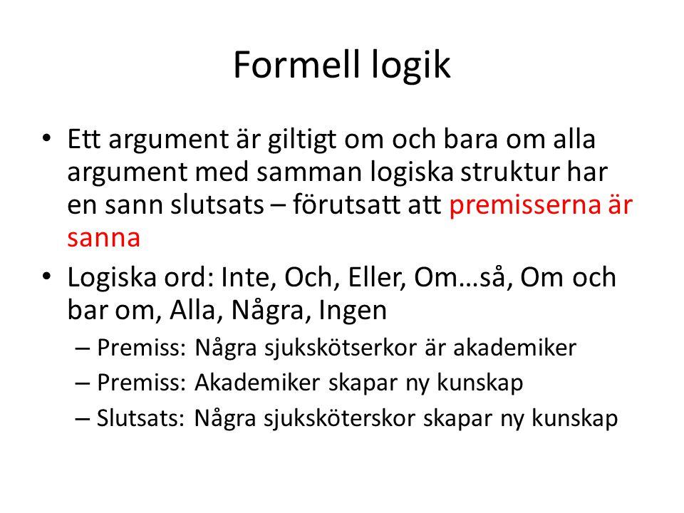 Formell logik