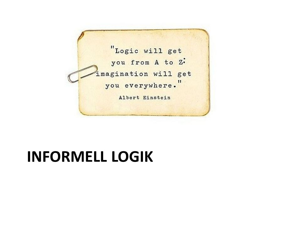Informell logik