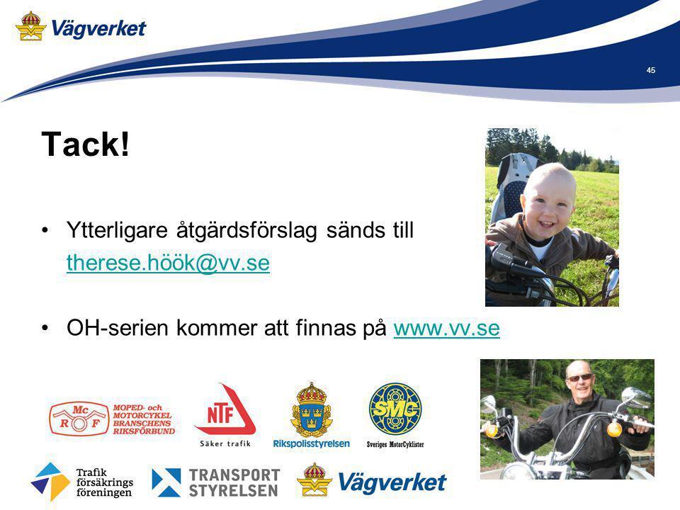 Tack! Ytterligare åtgärdsförslag sänds till therese.höök@vv.se