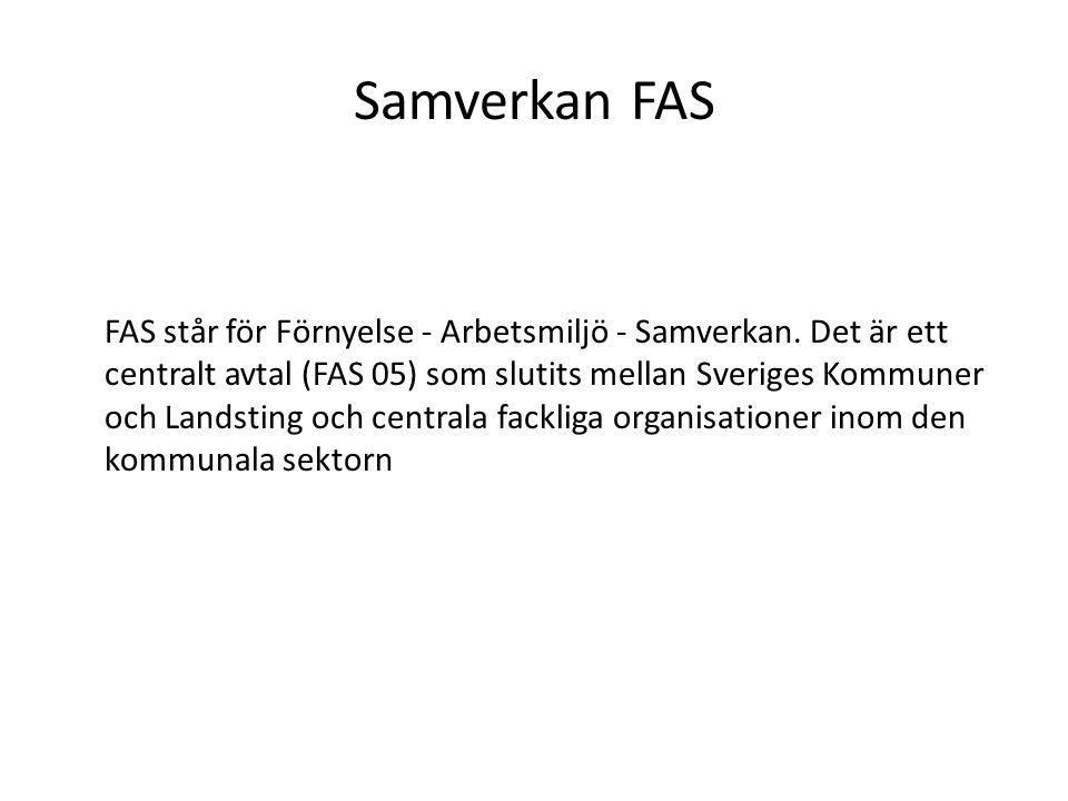 Samverkan FAS