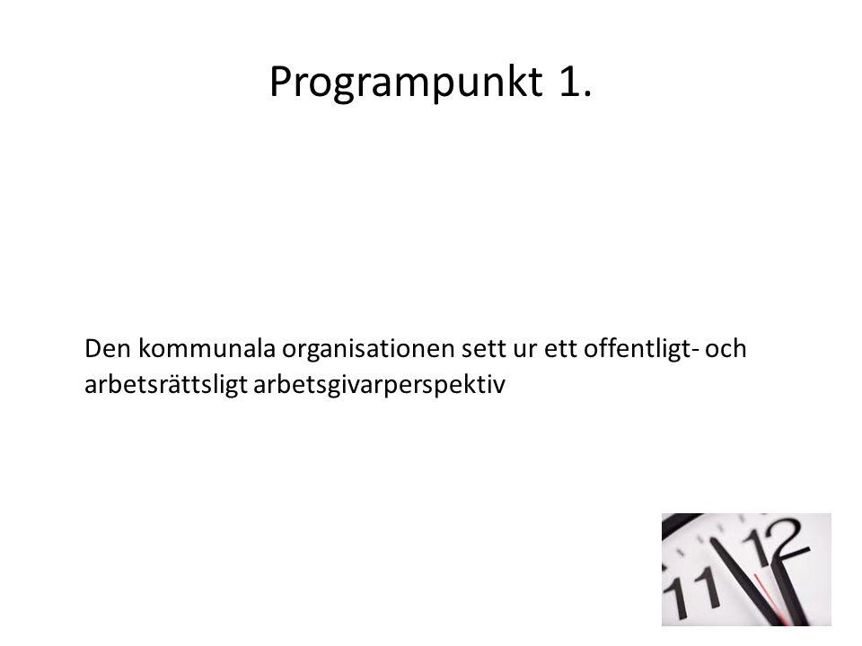 Programpunkt 1.