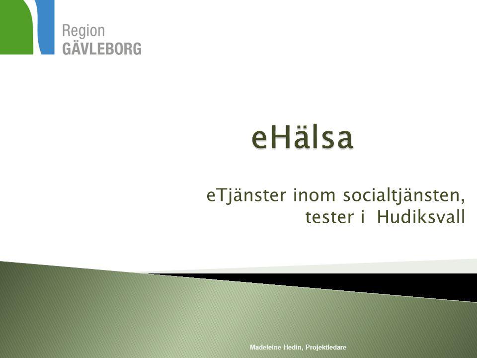 eTjänster inom socialtjänsten, tester i Hudiksvall
