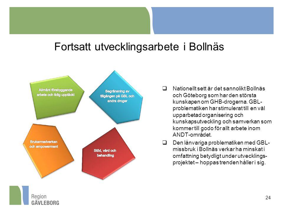 Fortsatt utvecklingsarbete i Bollnäs